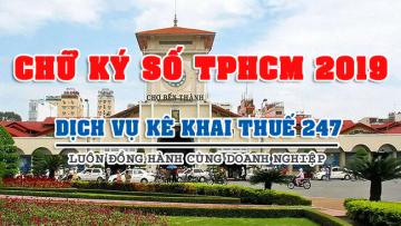 Báo giá chữ ký số tại TPHCM 2019: VNPT, Viettel, VINA, NewCA... giá rẻ nhất
